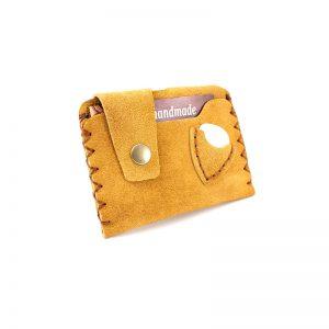 Jimmy's Baggie: Πορτοφολάκι για Κάρτες & Πένα Κιθάρας – Μπεζ, Καστόρινο